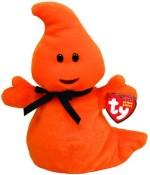 TY Beanie Babies Soft Toys TY Beanie Babies Haunt Orange Ghost
