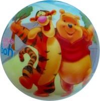 Lolprint 02 Winnie The Pooh Soft Ball  - 4 Inch (Multicolor)