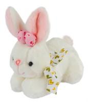 Dhoom Soft Toys Bunny White  - 18 Cm (White)