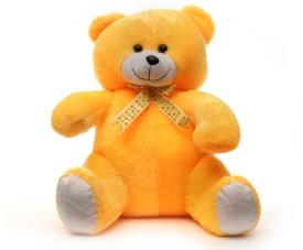 Acctu Toys Yellow Sitting Teddy-40cm - 40 cm