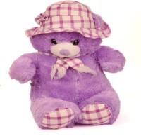 Shopmillions Sweet & Innocent Teddy Bear  - 57 Cm (Purple, White)