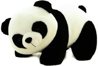Arthr Cute Adorable Soft Toys Panda  - 30 Cm (White, Black)