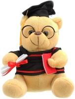 VRV Musical Scholar Teddy Bear  - 12 Cm (Beige)