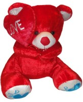 Shree Krishna Teddy Bear  - 16 Inch (Red, White)