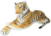 Deals India White And Brown Tiger Combo  - 14 Inch (White, Brown)