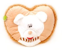 Scrazy Super Smart Sweet Heart Cushions  - 20 Cm (Multicolor)