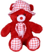 Joy Teddy Bear  - 13 Inch (Red)