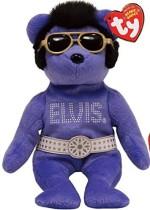 TY Beanie Babies Soft Toys TY Beanie Babies Beanies Beanies Beanies The Elvis Bear