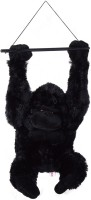 Abhinidi Cute Hanging Gorilla Teddy Bear Soft Lovely Toys  - 45 Cm (Multicolor)
