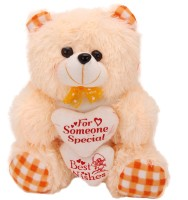 Arihant Online Orange Lavish Teddy Bear  - 5 Inch (Orange)
