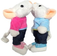 SCG Gift This Medium Stuart Little Combo Soft Toy  - 25 Cm (Blue, Pink)