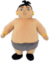 Chhota Bheem Kalia Plush Toy - 33 Cm  - 33 Cm (Multicolor)