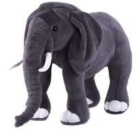 Nb Phoenix Rey Elephant Stuffed Soft Plush Toy 45 Cm  - 45 Cm (Grey)
