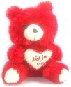 Porcupine 48 Inches Teddy Bear  - 48 Inch - Red