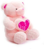 A Smile Toys & More Life Size Teddy Bear - 48 Inch (Pink)