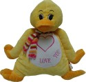 Play N Pets Animal Soft Toy - Duck  - 13.77 inch - Yellow
