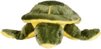 Scrazy Super Smart Vastu Turtle  - 10 Cm (Green, Yellow)