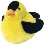 Wild Republic Soft Toys Wild Republic American Goldfinch Audubon Plush Bird