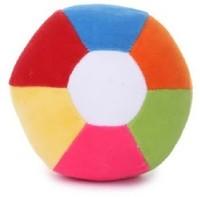 Deals India Medium Soft Toy Ball  - 8 Inch (Multicolor)