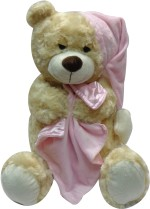 Archies Huggables Soft Toys Archies Huggables Bear with Blanket 12.59 inch