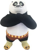 Dreamworks Kung Fu Panda Standing Plush  - 30 Cm (Multi Colour)