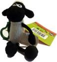 Shaun The Sheep Keychain - Shaun  - 5.11 Inch - Black, White