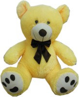 Fun&funky Teddy Bear  - 22 Inch (Yellow)