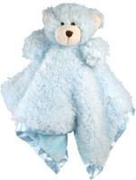 Stephan Baby Ultra Soft Cuddle Bud Blankie Bearblue  - 20 Inch (Multicolor54)