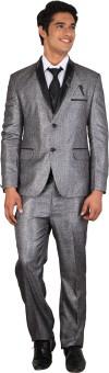 Men.Xs Single Breasted Solid Men's Suit - SUIECKYYNAG9RPDS