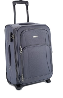 Princeware Princeware Fabio Expandable  Check-In Luggage - 22 (Grey)