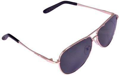 View Plus View Plus Aviator Sunglasses (Black)