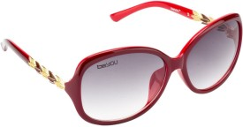 Be You Bug Eye Over-sized Sunglasses