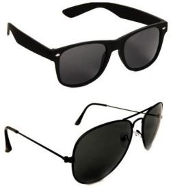 killys Wayfarer, Aviator Sunglasses