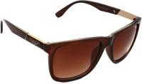 Puma Polise Classic Bat Brown Over-sized Sunglasses