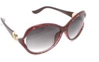 FashBlush Higher Love Oval Sunglasses For Girls