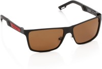 Fastrack Rectangular Sunglasses - SGLDNGSBZNHHGGBA
