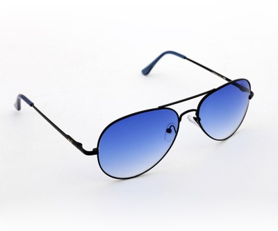 Elligator Elligator Aviator Sunglasses (Blue)