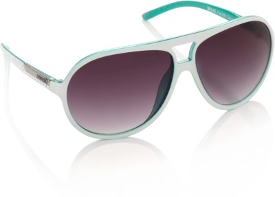 Aviator Animal Aviator Sunglasses (Violet)