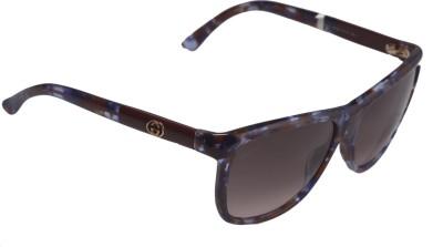 Gucci Gucci 10568 Wayfarer Sunglasses (Multicolor)