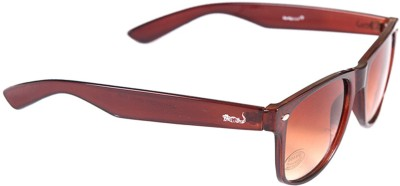 Elligator Elligator Wayfarer Sunglasses (Brown)