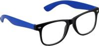 Gansta Cool Black & Blue Wayfarer Sunglasses