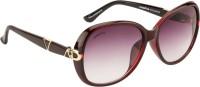 O Positive Sky Line Oval Sunglasses For Girls