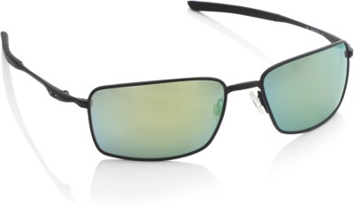 Oakley Oakley Rectangular Sunglasses (Multicolor)