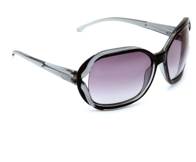 Valentino Valentino Oval Sunglasses (Grey)