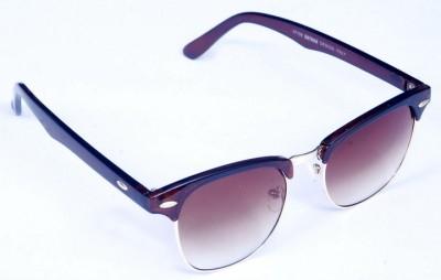 View Plus View Plus Wayfarer Sunglasses (Brown)