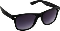 Poloport Black Frame Grey Shade Lense With Case Wayfarer Sunglasses