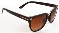 Puma T-Ford Classic Framed Brown Wayfarer Sunglasses