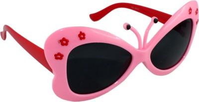 Cat Rocher Cat-Eye Sunglasses (Black)