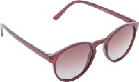 Cristiano Ronnie Oval Sunglasses Brown