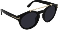 Style Fiesta Black Cop Sunglasses Oval Sunglasses